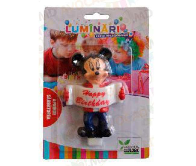 lumanare mickey happy birthday