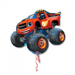 Blaze and the Monster Machines​ ​34 in 28 in 86 cm 71 cm